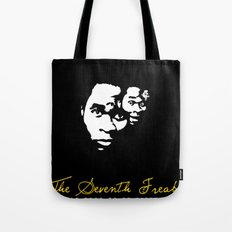 Freaky Faces Tote Bag