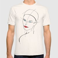 Figure Study Mens Fitted Tee Natural SMALL