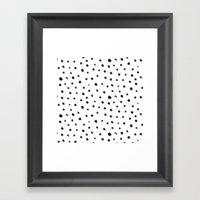 Fingerdots Framed Art Print