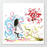 devil & a. Canvas Print