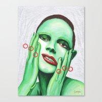 Close Up 7 Canvas Print
