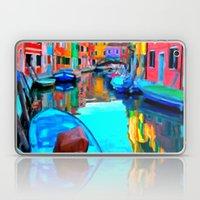 Colors In Venice - Paint… Laptop & iPad Skin