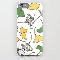 iPhone & iPod Case featuring The Gingko Remains by Carley Lee