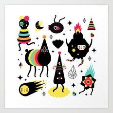 Cosmic Magic Art Print