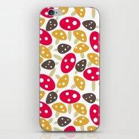 Mod Mushrooms iPhone & iPod Skin