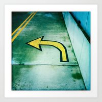 This Way  Art Print