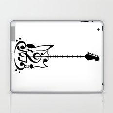 Guitar of Notes Laptop & iPad Skin