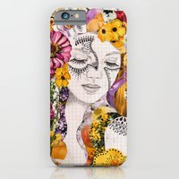 iPhone & iPod Case featuring Flora by Jenndalyn