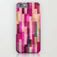 iPhone & iPod Case featuring Pinks and Parallels by F. C. Brooks