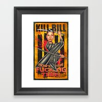 Now Is The Fucking Time Framed Art Print