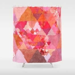 Shower Curtain - Into the heat - Triangles - Better HOME