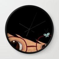 Blinking Wall Clock