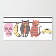 The Unusual Suspects Canvas Print