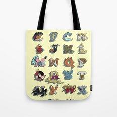 The Disney Alphabet Tote Bag