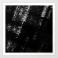 Black & White Abstract S… Art Print
