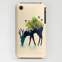 iPhone 3Gs & iPhone 3G Cases featuring Watering (A Life Into Itself) by Budi Kwan