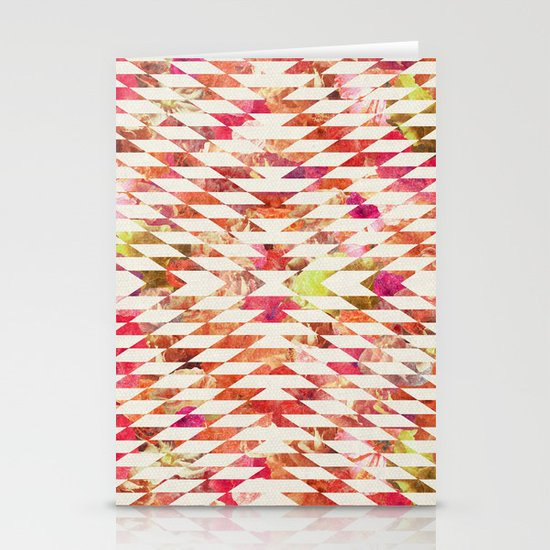 FLORAL EXPLOSION Stationery Card