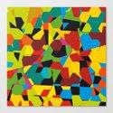 hexagon1 Canvas Print