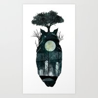 March Of The Forest Spir… Art Print