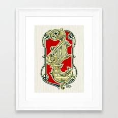 4117 Framed Art Print