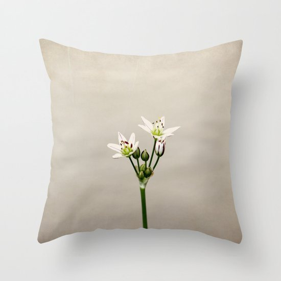 Simple As It Should Be Throw Pillow