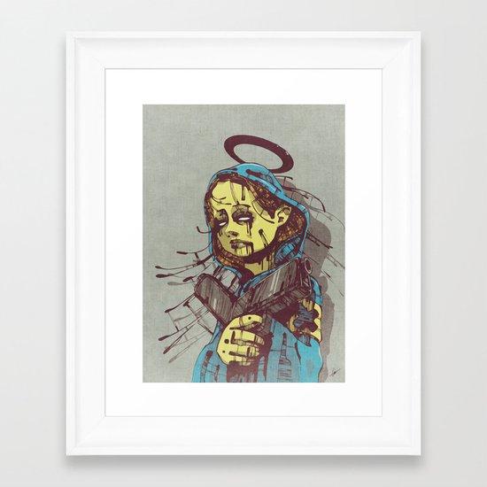 Shepherd II. Framed Art Print