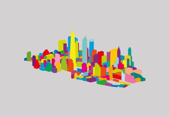 New WTC Isometric Canvas Print