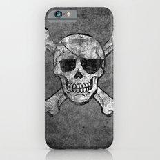 Black Pirate  iPhone 6s Slim Case