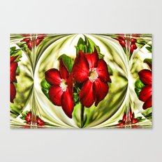 Exotic Flower Unrap Canvas Print