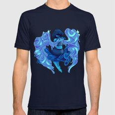Lapis Lazuli  Mens Fitted Tee Navy SMALL