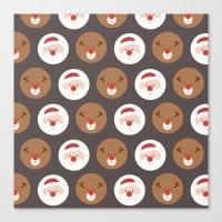 Day 19/25 Advent - Santa… Canvas Print