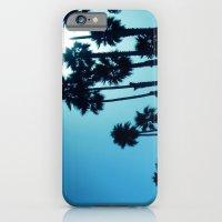 iPhone & iPod Case featuring Santa Cruz - Blue  by Suzanne Kurilla