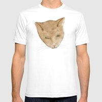 Totem Kitteh 2 Mens Fitted Tee White SMALL
