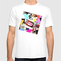 Mood Board Mens Fitted Tee White SMALL