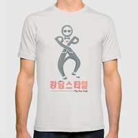 Oppa Alt. Mens Fitted Tee Silver SMALL