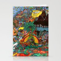 A Land Of Chaos Stationery Cards