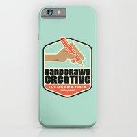 iPhone & iPod Case featuring Hand Drawn Creative Artprint by Hand Drawn Creative