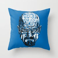 Heisenberg Quotes Throw Pillow