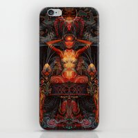 Triptych: Shakti - Red G… iPhone & iPod Skin