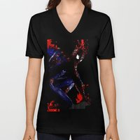 Spiderman In London Unisex V-Neck