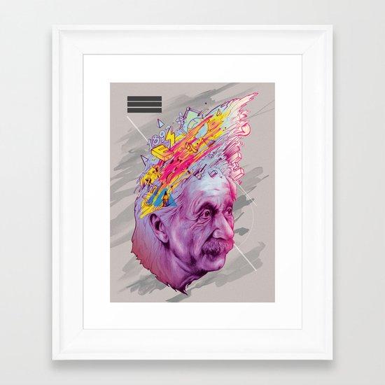 Mr. Einstein Framed Art Print