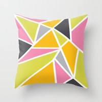 Diaganoid Series: Confec… Throw Pillow