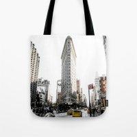 Desaturated New York Tote Bag