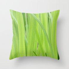 Mystic Green Throw Pillow