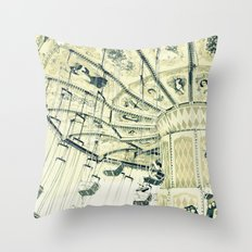 I can touch the sky Throw Pillow