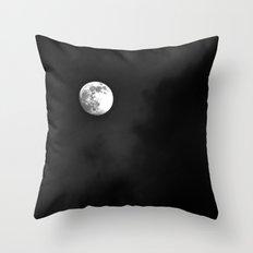 Summer Moon Throw Pillow