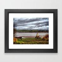 Fremington Quay North Devon 3 Framed Art Print
