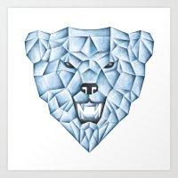 ICE BEAR Art Print