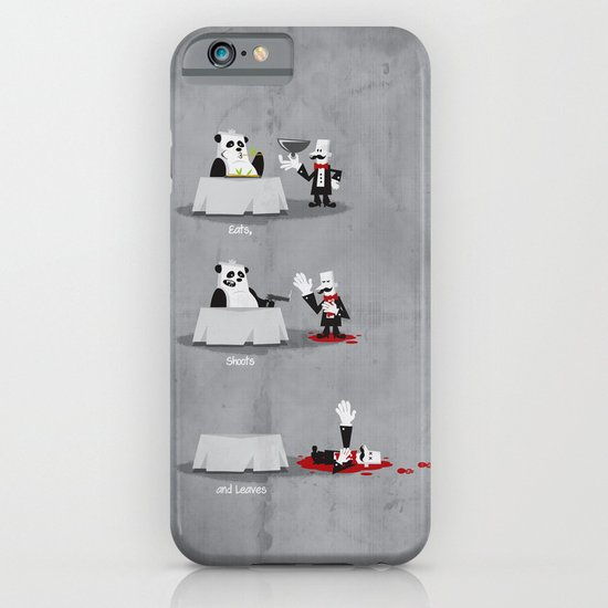 Eating Habits of the Panda iPhone & iPod Case