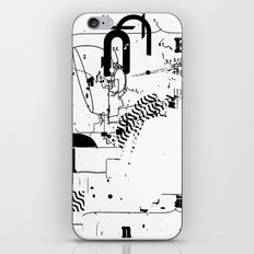 SPLIT #4 iPhone & iPod Skin